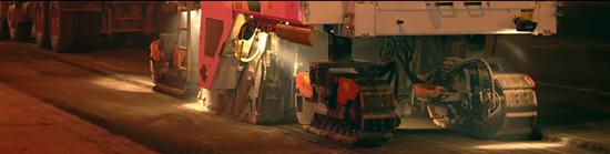 Columbus, Ohio Asphalt Milling Image